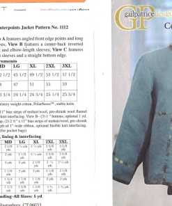 Gail Patric Design Counterpoints Jacket