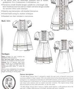 Ginger Snaps Designs The Blue Ridge Antique Dress 1