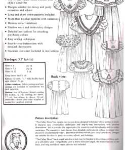 Ginger Snaps Designs The Collar Dress 1
