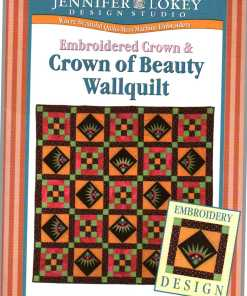 Jennifer Lokey Design Studio Quilt Wall Quilt Crown of Beauty