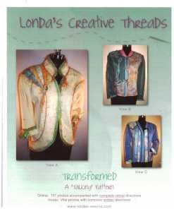 Londas Creative Threads Transformed a creative sweatshirt Jacket