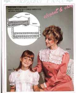 Margaret Pierce Square Collars