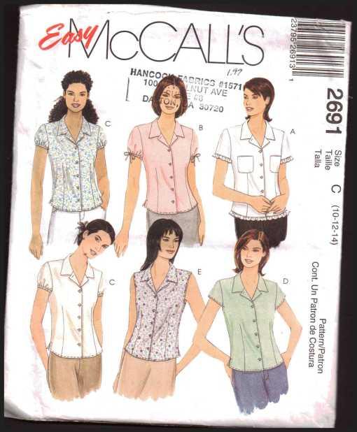 McCalls 2691 J