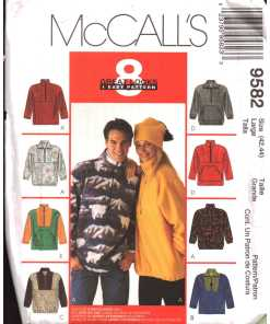 McCalls 9582 M