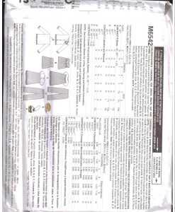 McCalls M6542 J 1