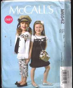 McCalls M6542 J