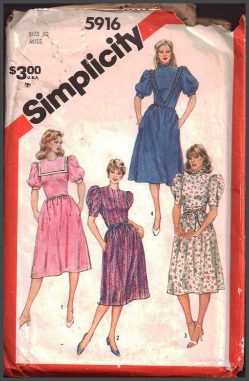 Simplicity 5916 J