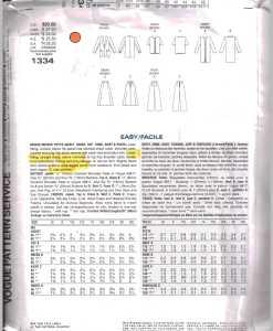 Vogue 1334 J 1