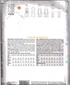Vogue 1375 J 1