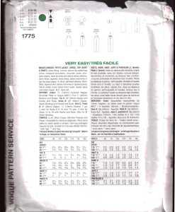 Vogue 1775 J