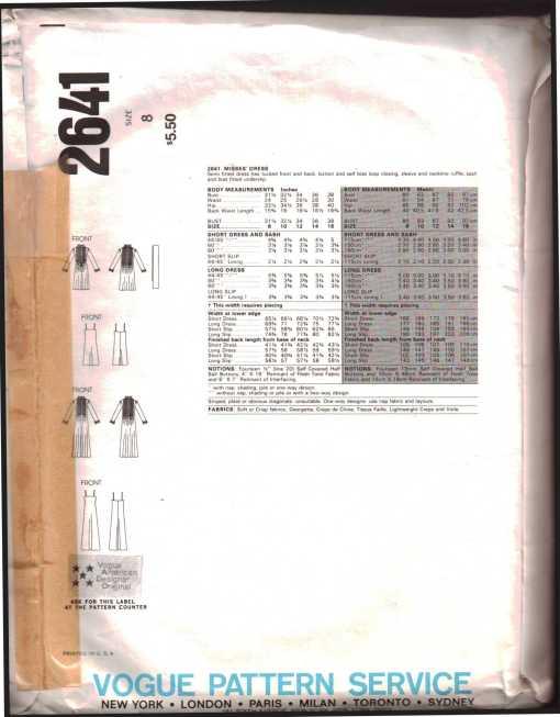 Vogue 2641 J 1