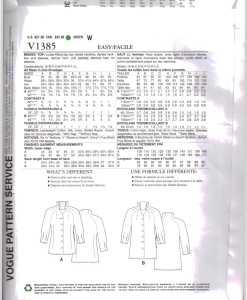 Vogue V1385 J 1