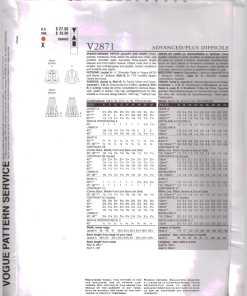 Vogue V2871 J 1