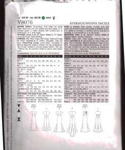 Vogue V8076 J 1