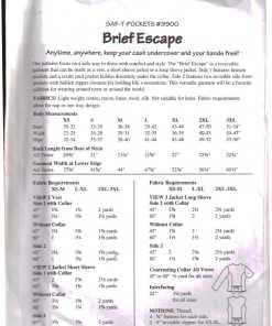 Brief Escape 9900 1