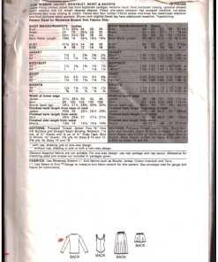 Butterick 3128 J 1