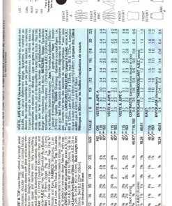 Butterick 3491 J 1 2