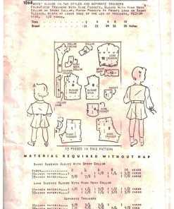 New York Pattern 1268 1