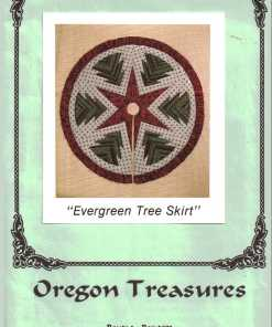 Oregon Treasures Quilt Evergreen Tree Skirt