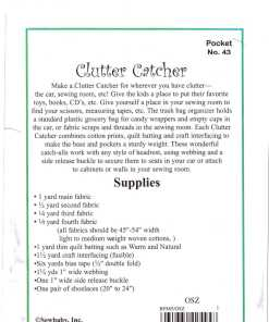 Sew Baby Clutter Catchers 1
