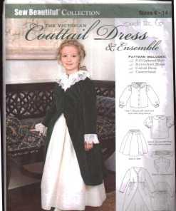 Sew Beatuful coattail dress