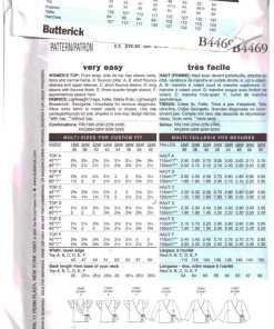 Butterick B4469 1