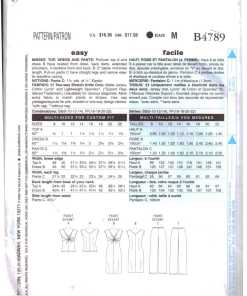 Butterick B4789 1