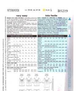 Butterick B5219 1