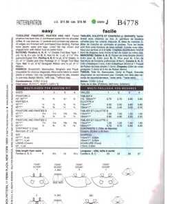 Butterick B4778 J 1