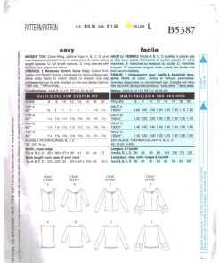 Butterick B5387 O 1