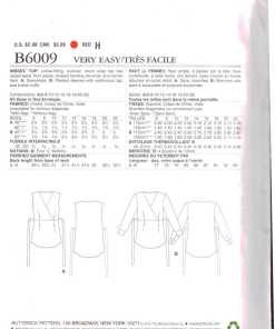 Butterick B6009 O 1