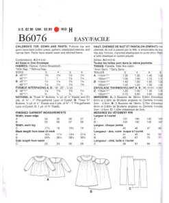 Butterick B6076 O 1
