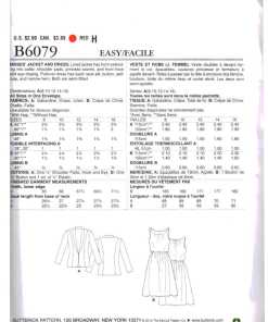 Butterick B6079 O 1