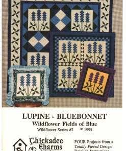 Chickadee Charms Lupine Bluebonnet