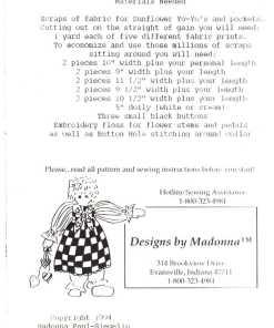 Designs by Madonna DbM 58 1