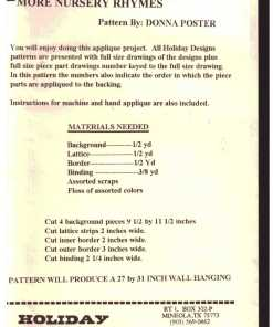 Holiday Designs P 63 N 1