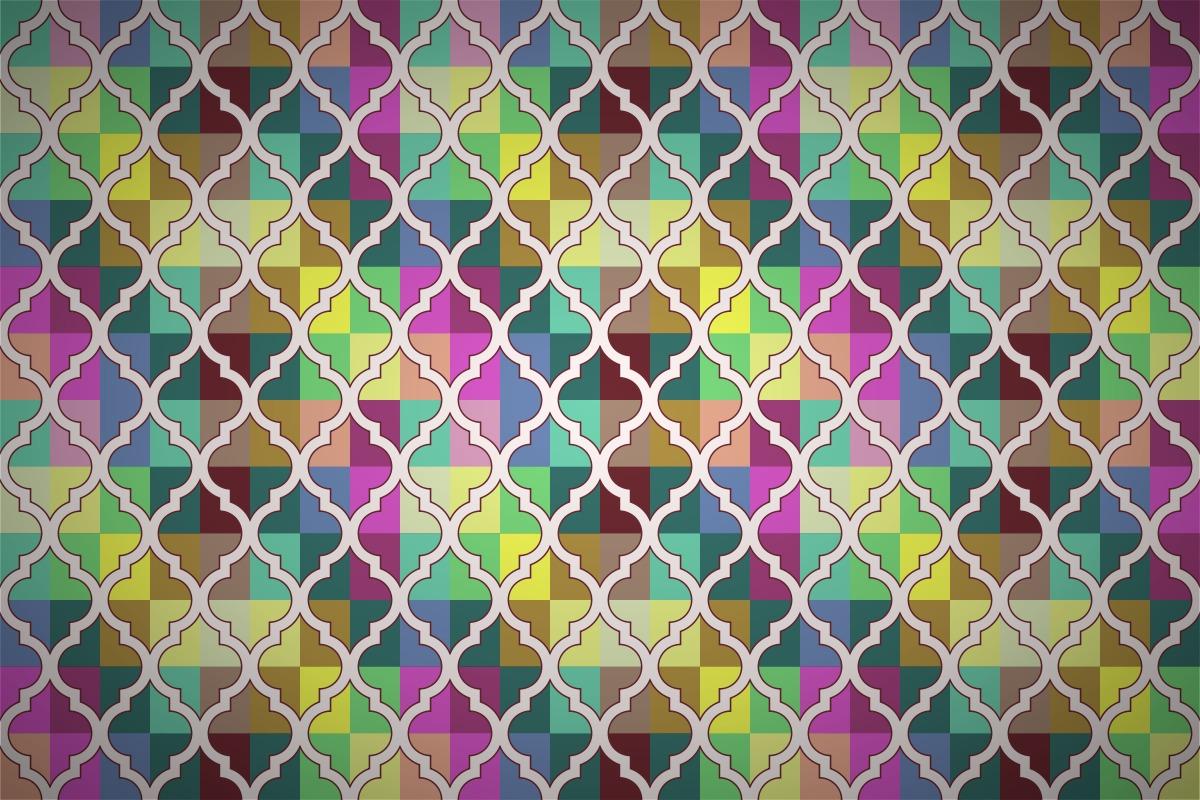 Free Quatrefoil Quilt Wallpaper Patterns