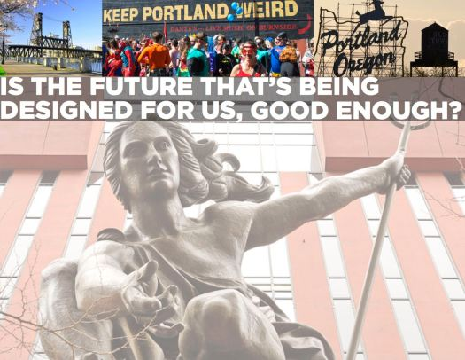 Portland Inc Pitch Deck Portland Video Production Oregon Film Documentary filmmaking Keep Portland Weird Portlandia statue