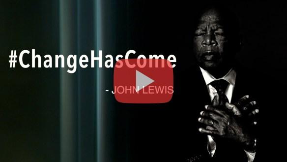 change has come, john lewis, pattern integrity films