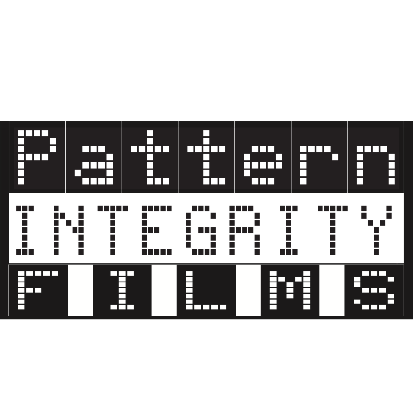 Pattern Integrity Films logo, george carlin, portland film studio