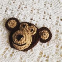 A Crochet Monkey