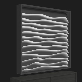 © PATTERN SHAPE | WAVE | LIGHT SCULPTURE - 0 WHITE