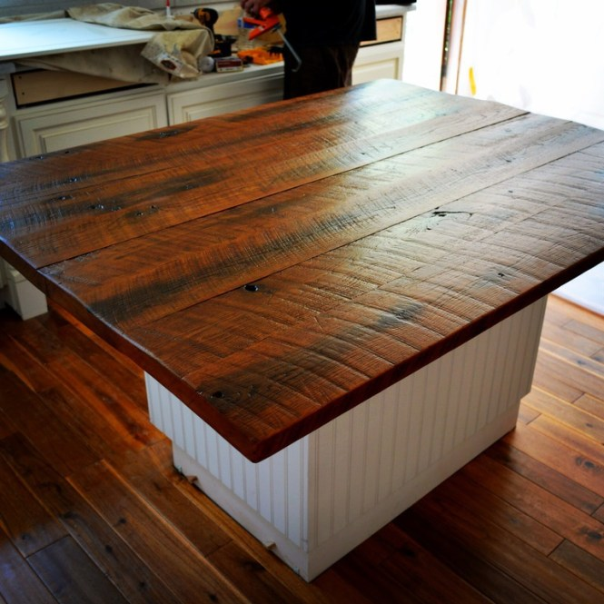 Diy Wood Kitchen Countertops: Diy Wood Countertop Ideas