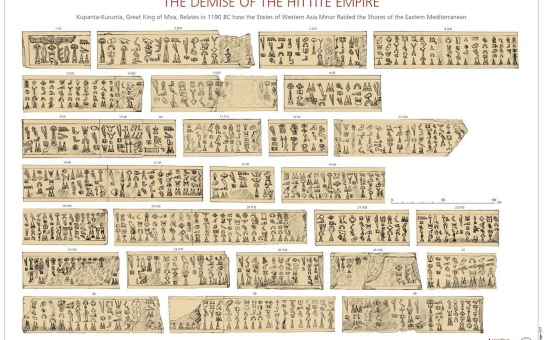 "Ancient ""Sea Peoples"" Tablet Deciphered – Are they the Biblical Philistines?"