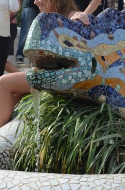 Lizard at Park Guell