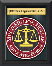 The Multi-Million Dollar Advocates forum has granted membership to Patterson Legal Group.