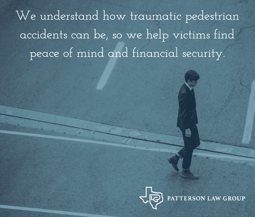 Fort Worth Pedestrian Accident Lawyer Texas Patterson Law Group