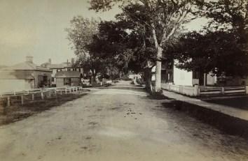 Looking east on Main Street 1889