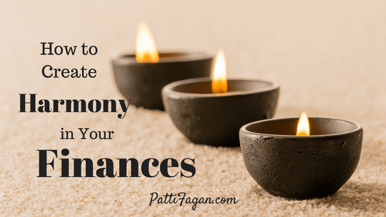 How to Create Harmony in Your Finances blog post
