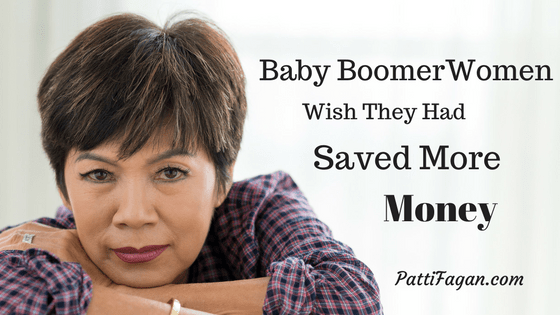 Baby Boomer Women Wish They Had Saved More Money for Retirement